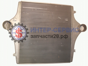 Радиатор (intercooler) WEICHAI WP10  DZ95259531501 SHAANXI